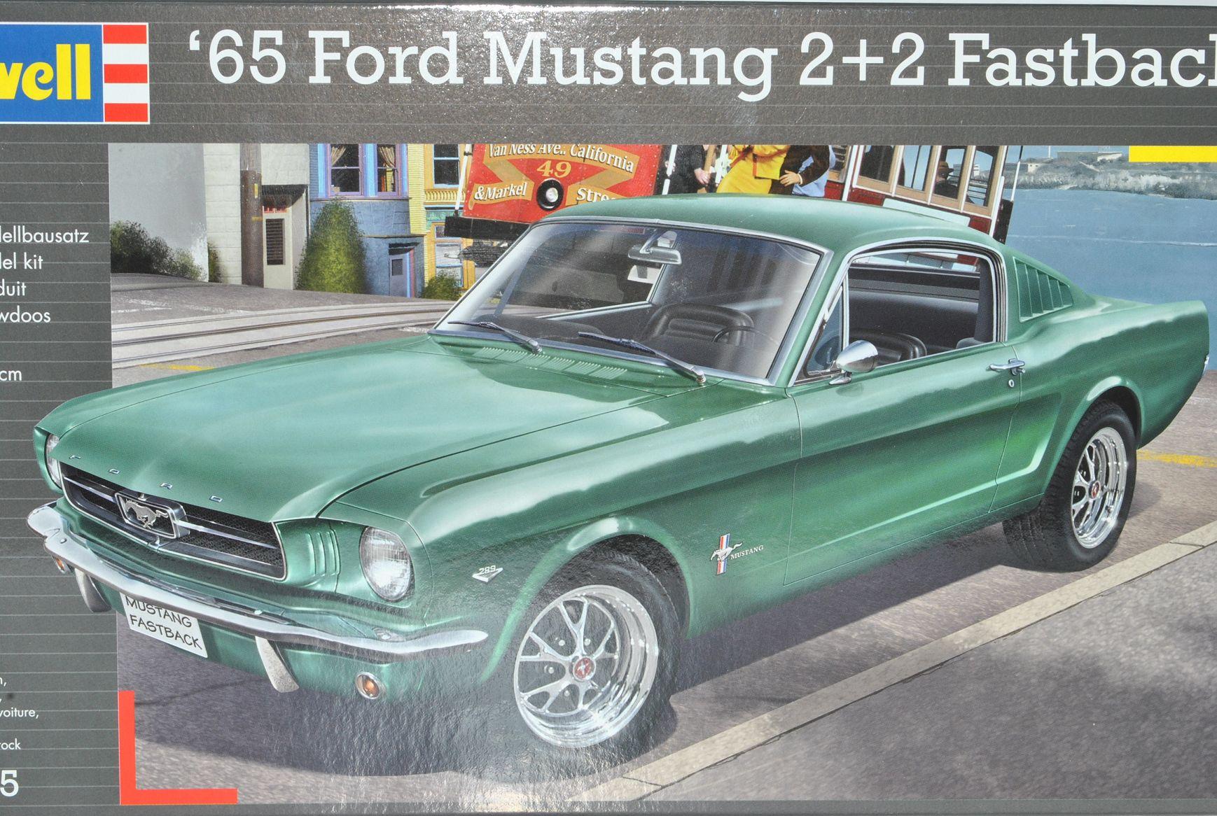 ford mustang coupe fastback 2 2 1965 07065 bausatz kit 1. Black Bedroom Furniture Sets. Home Design Ideas