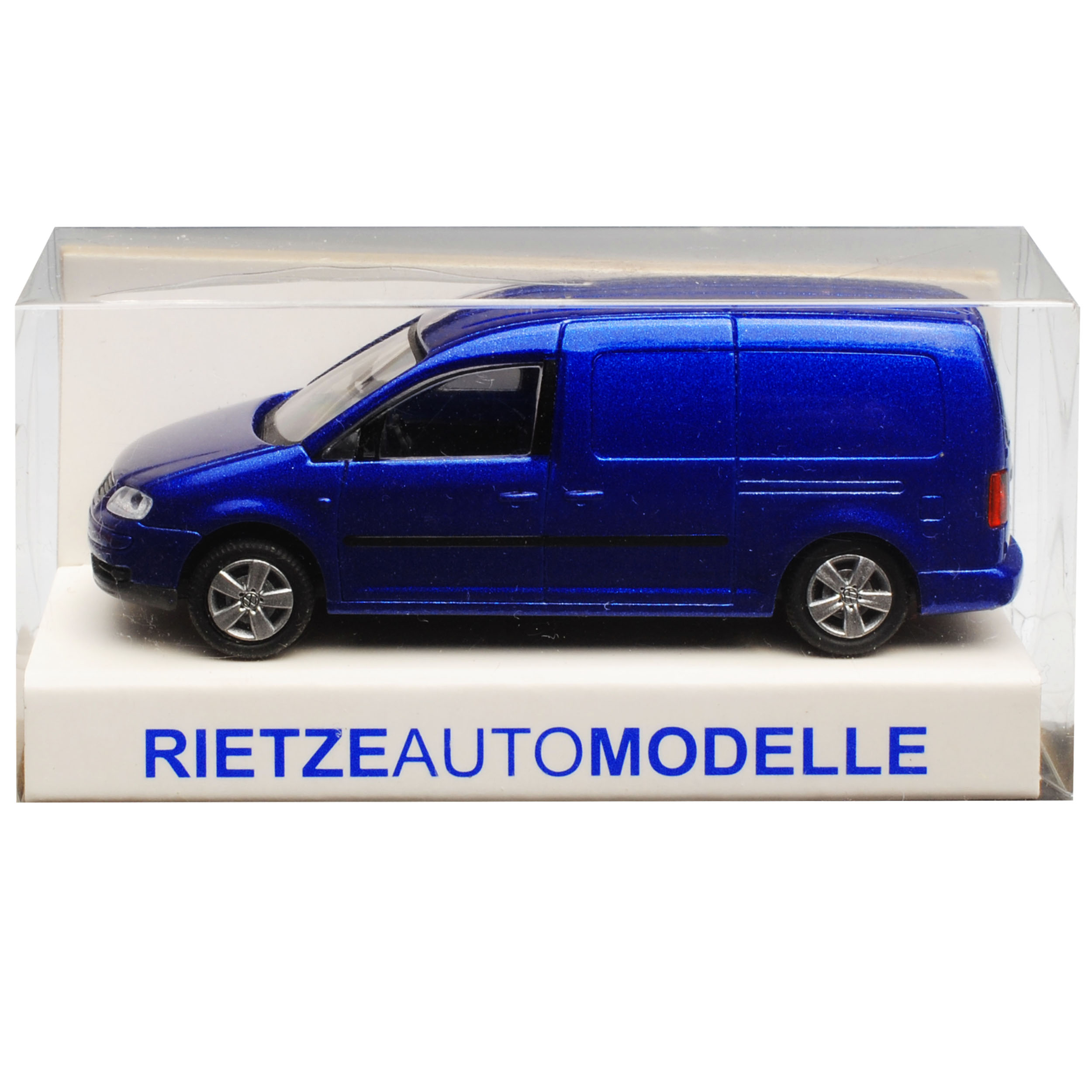 Vw Volkswagen Caddy 2k Maxi Transporter Kasten Blau Metallic
