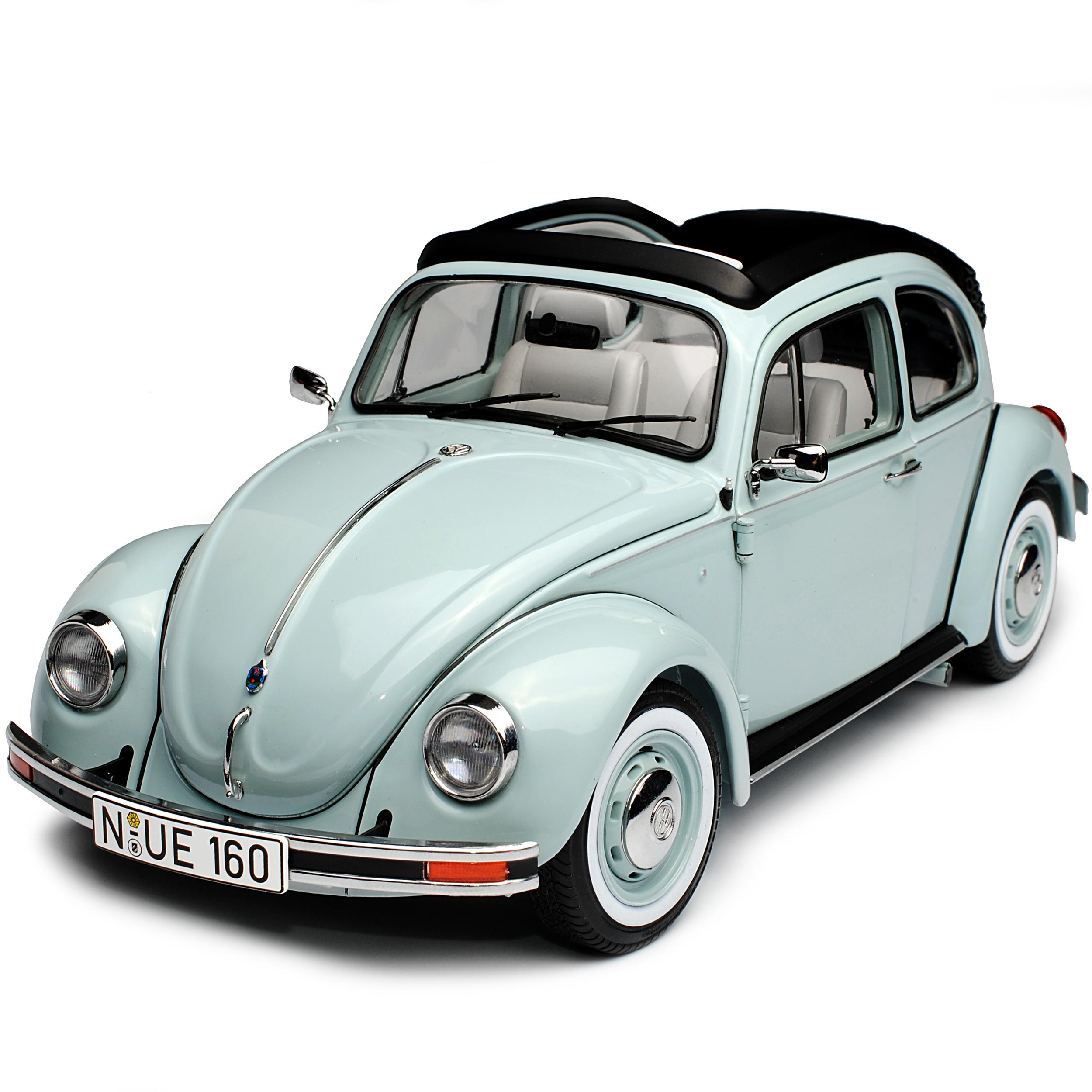 VW Volkswagen Coccinelle avec Soft toit 1600 i Ultima Final Final Final Edition 2003 gris bleu 1.. c2cb79