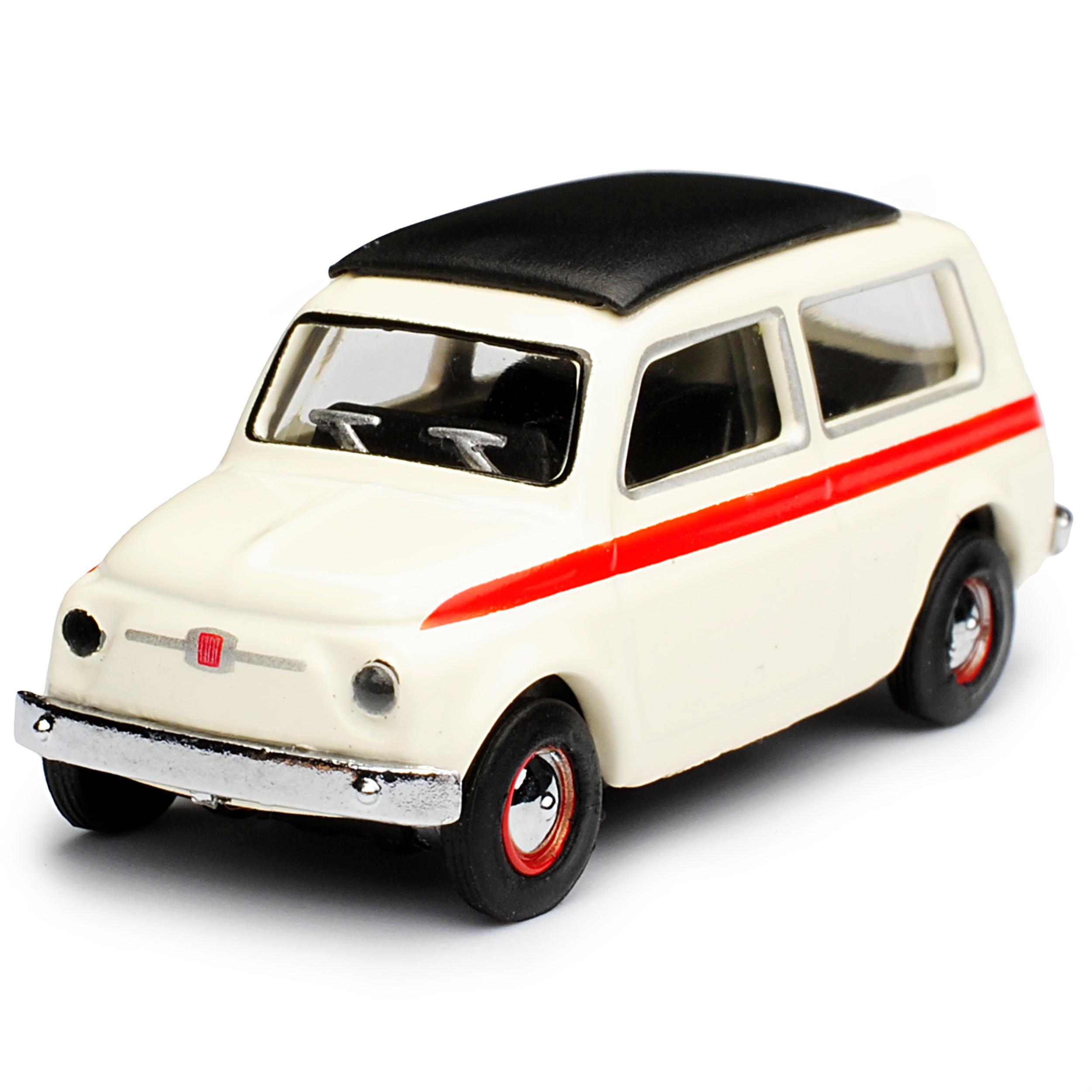 Details Zu Fiat 500 Kombi Klassik Giardiniera Weiss Ur Modell Ab 1960 H0 1 87 Schuco Mode