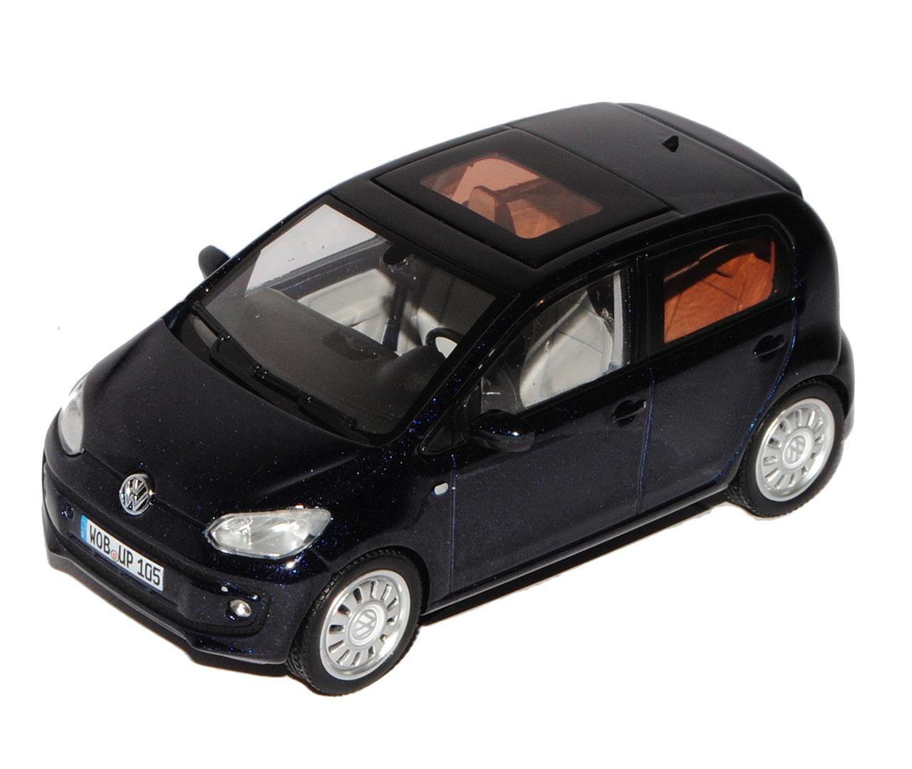VW Volkswagen Up  Dunkel Blau 5 Türer Ab Ab Ab 2011 1 43 Schuco Modell Auto mit oder..  | Düsseldorf Online Shop  a5ad6d