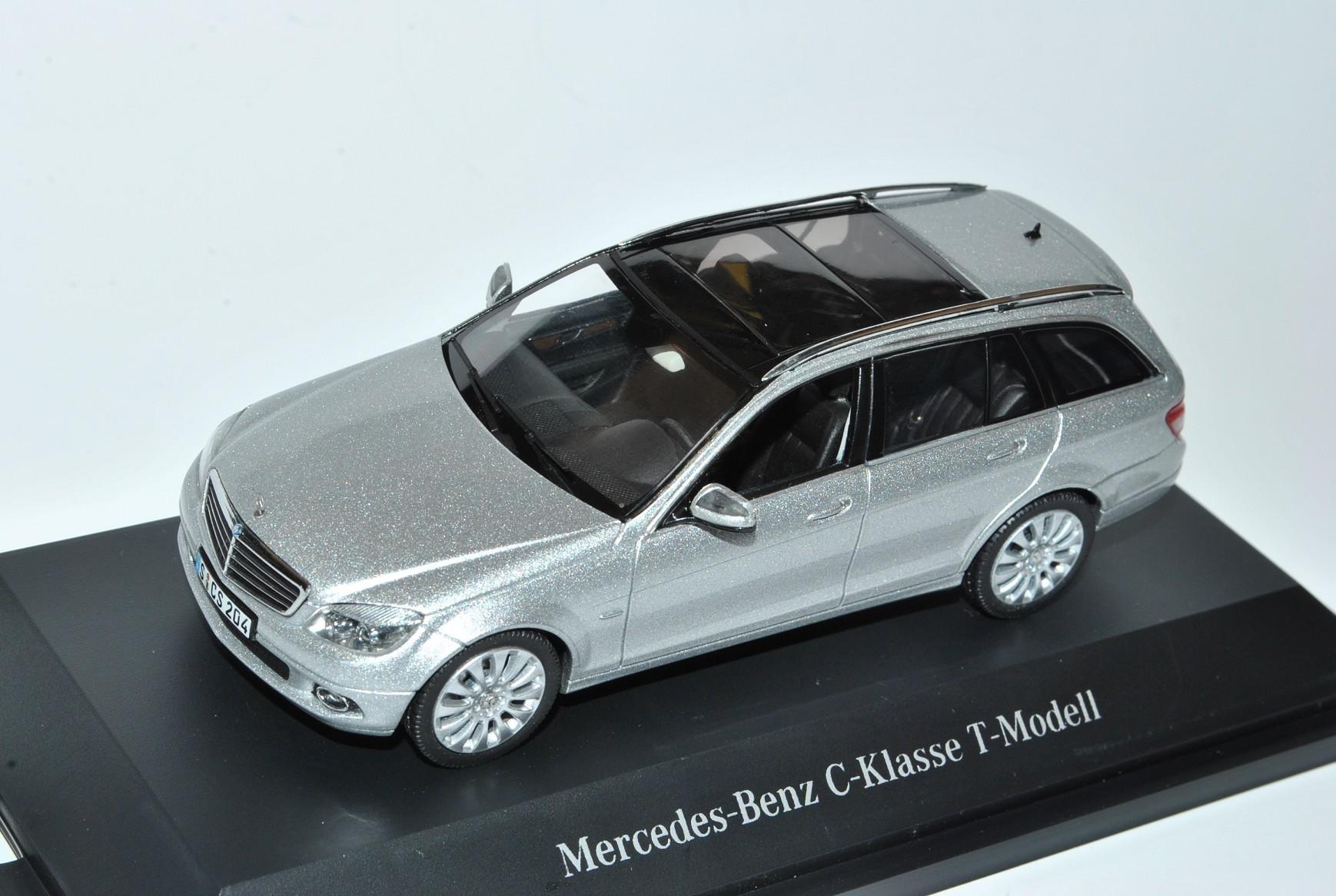 Mercedes-Benz Classe C w204 T-Modèle Combi iridium argent argent argent 2007-2014 1 43 Schuc... 78cbc2