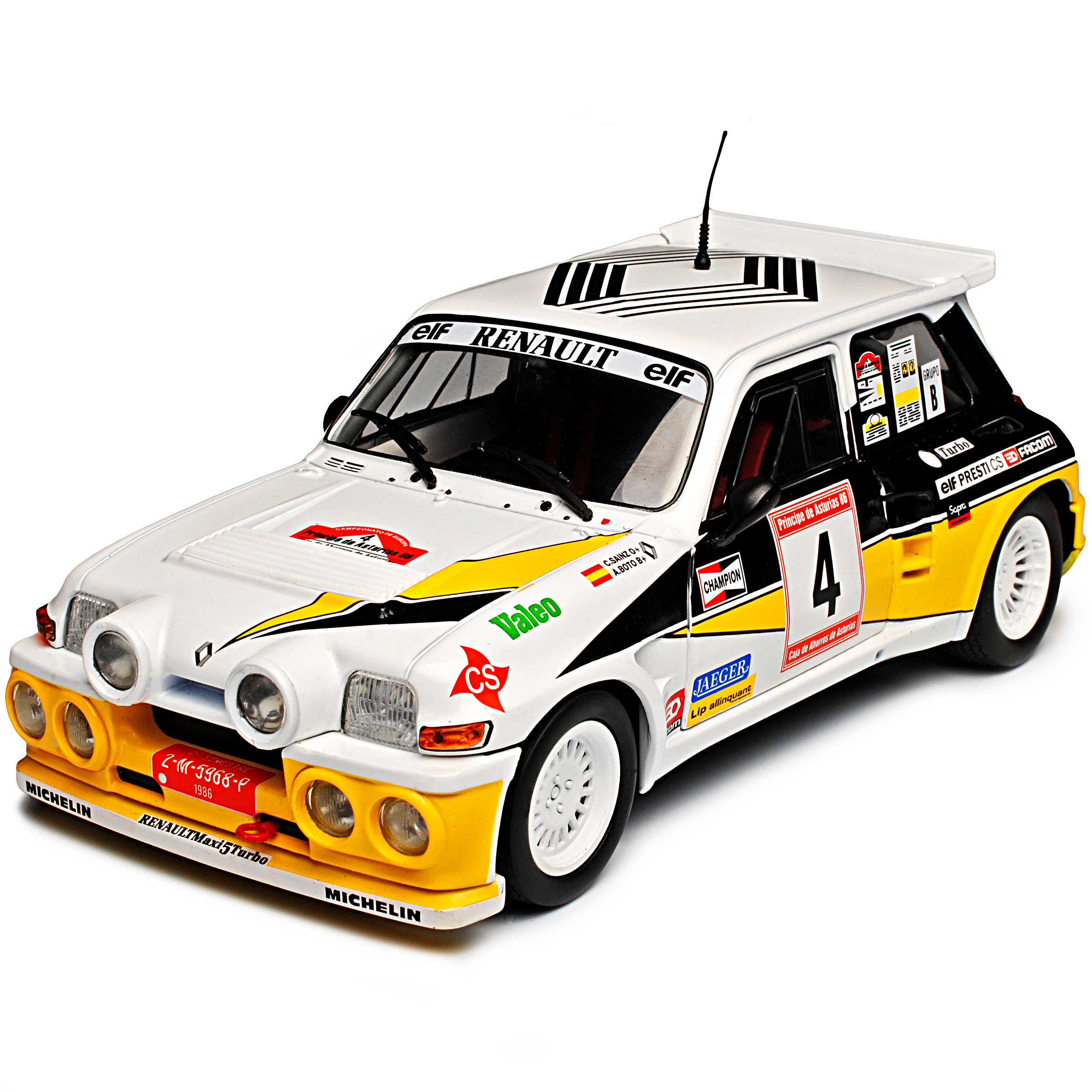 Renault R5 Turbo Maxi Rally Rallye Asturias Asturias Asturias Sainz 1. Generation 1972-1985 1 18.. a9ac2f