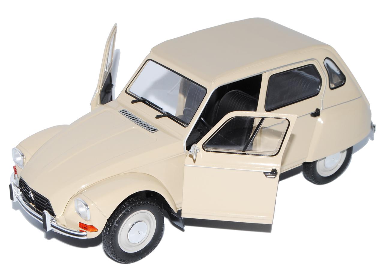 Citroen Dyane 6 6 6 Beige 5 Türer 1967-1984 1 18 Solido Modell Auto mit oder ohne ..  | Starke Hitze- und Hitzebeständigkeit  0bbc67