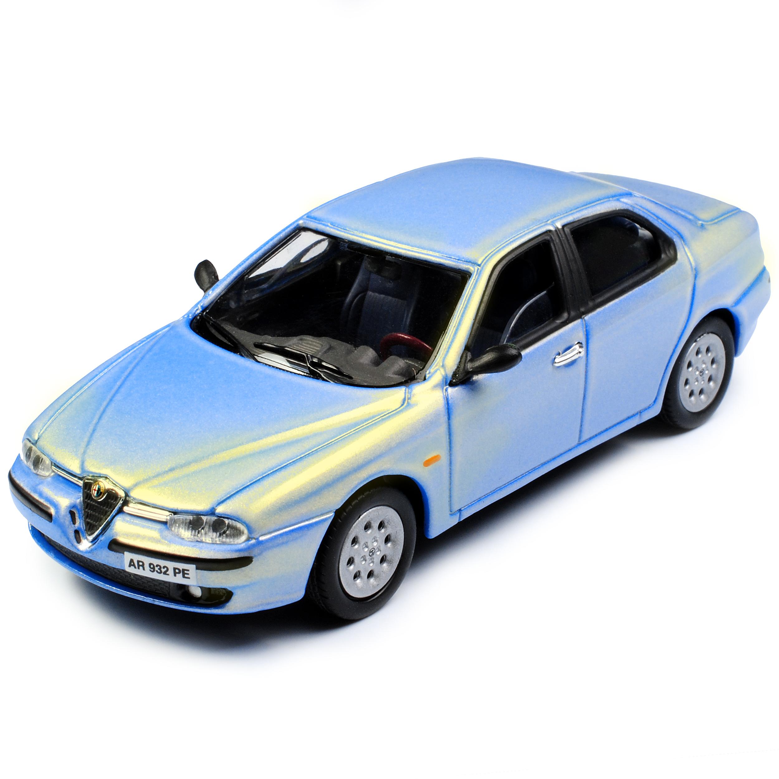 1:43 Alfa Romeo 166 Limousine verde solido nuevo en OVP