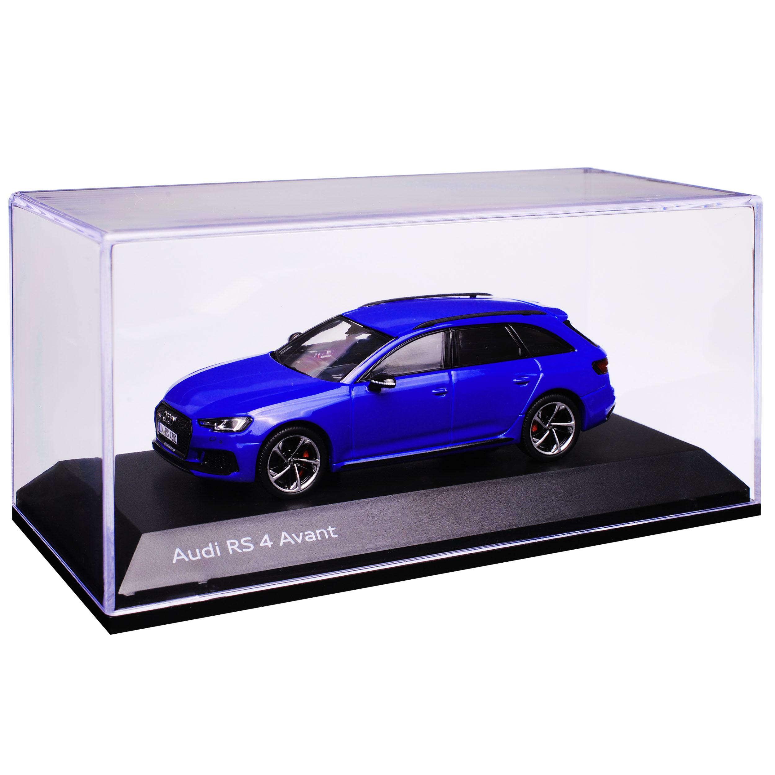 Audi a4 rs4 b9 Avant Kombi NOGARO bleu bleu bleu à partir de 2015 1 43 Spark modèle voiture avec ou... 4d87f9