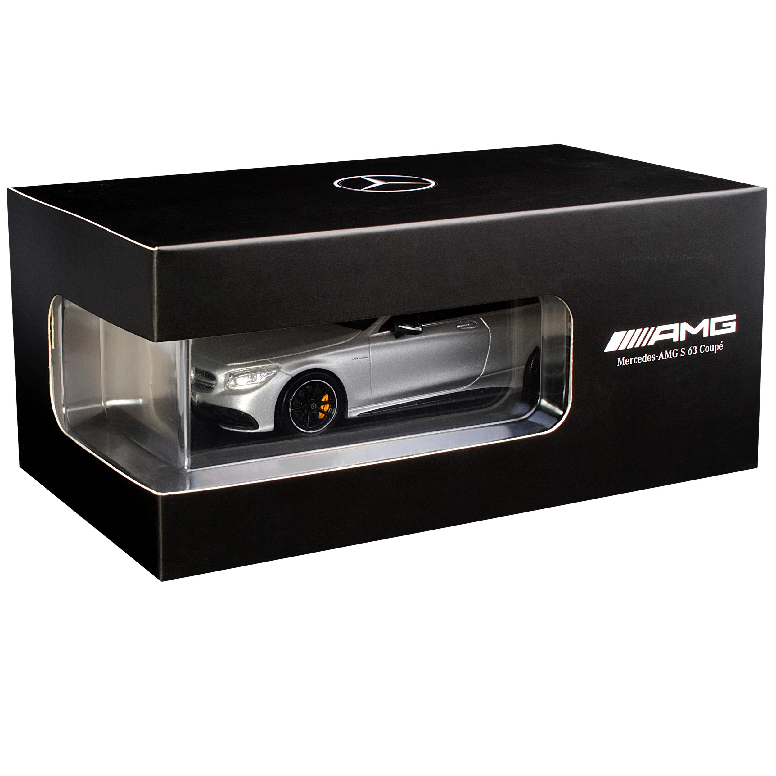 Mercedes-Benz Clase S S63 AMG Coupe C217 Iridium plata Magno Magno Magno de 2014 1 43 SP... d05d62