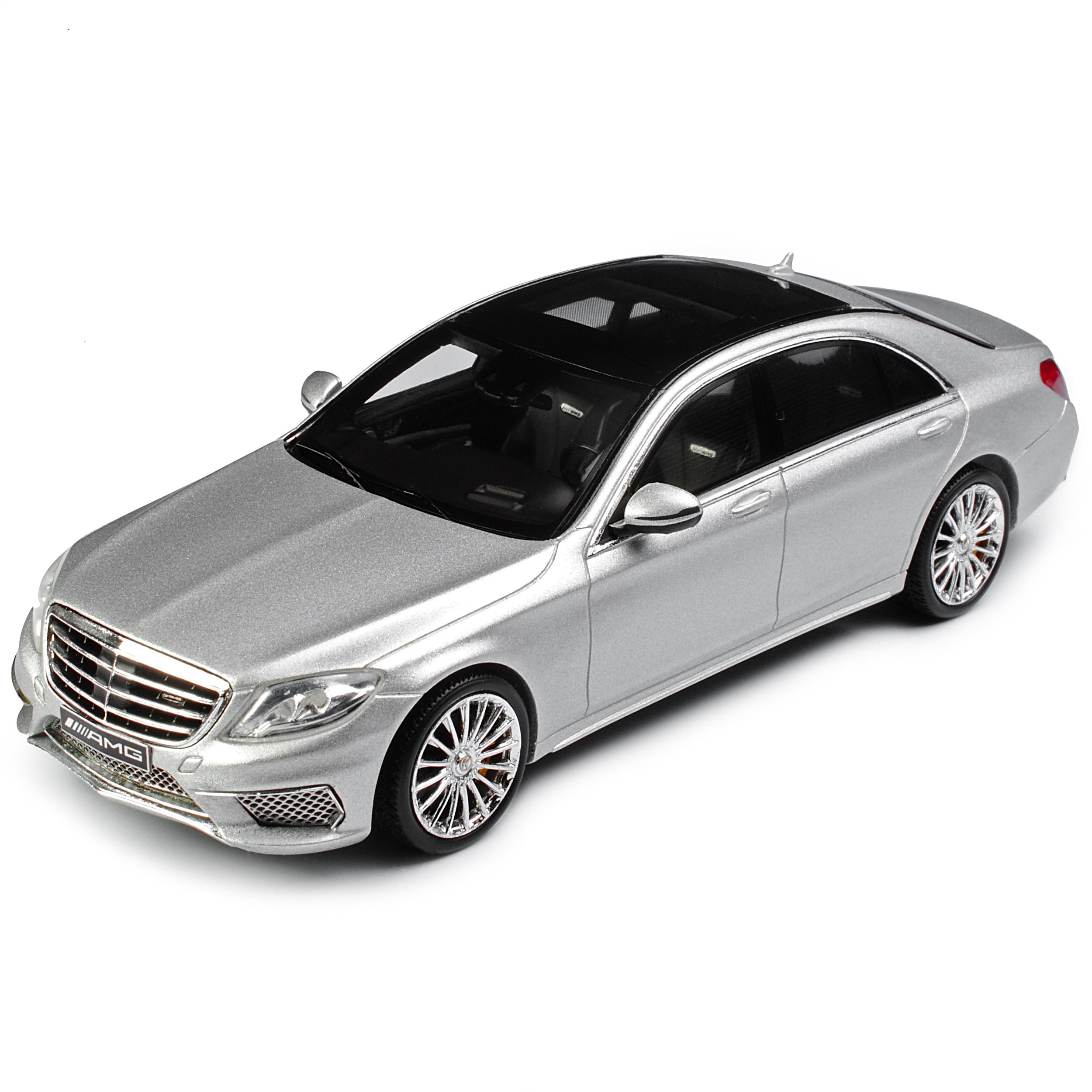 MERCEDES-BENZ CLASSE S s65 AMG dal v222 Limousine Iridio argentoo Magno a partire dal AMG 2013 1 4... f41532