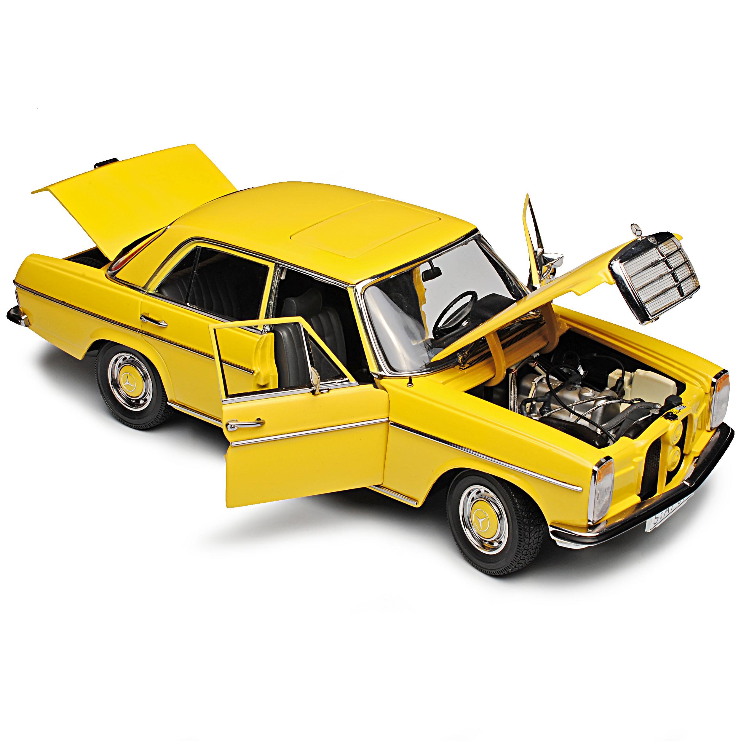Mercedes-Benz-8-Strich-Acht-Limousine-Beige-Sahara-Gelb-W114-1967-1976-1-18-S Indexbild 9