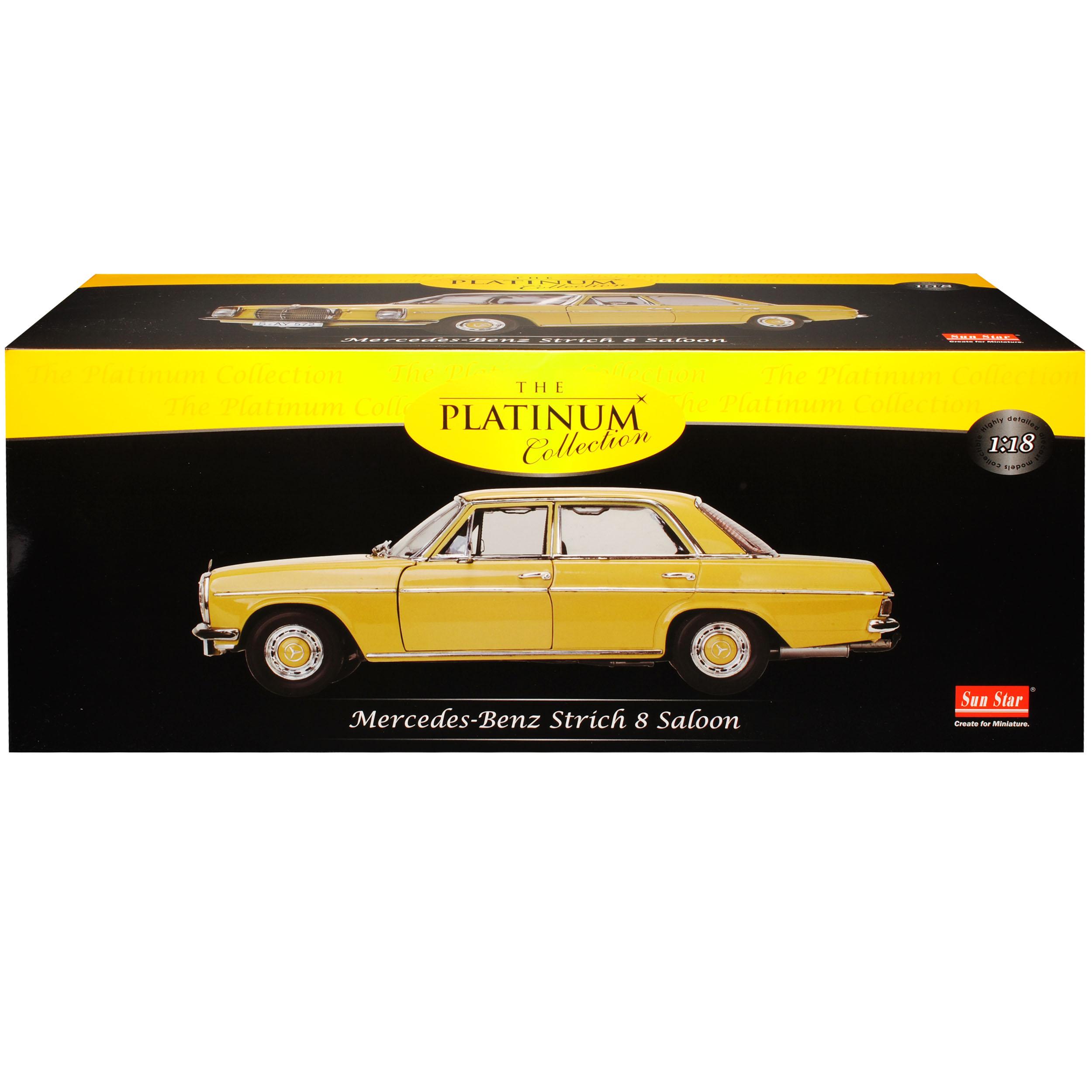 Mercedes-Benz-8-Strich-Acht-Limousine-Beige-Sahara-Gelb-W114-1967-1976-1-18-S Indexbild 10