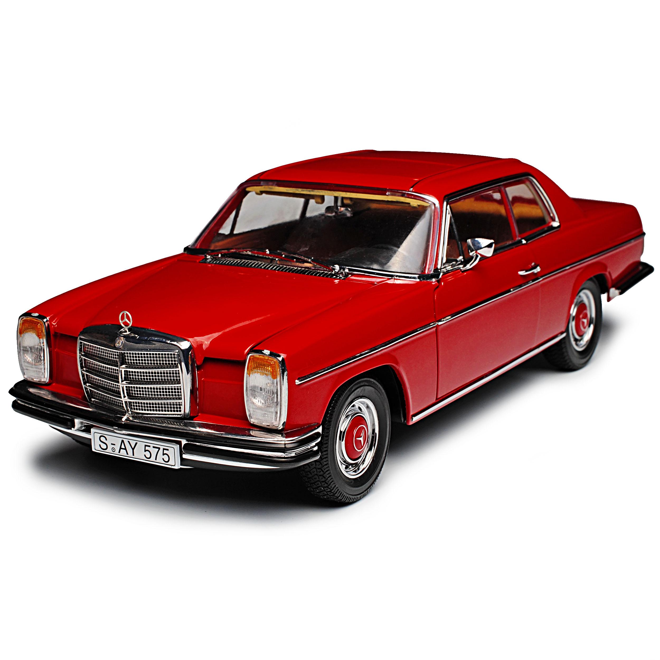 Mercedes-Benz-8-Strich-Acht-Coupe-Dunkel-Rot-W114-1967-1976-1-18-Sun-Star-Mod Indexbild 8