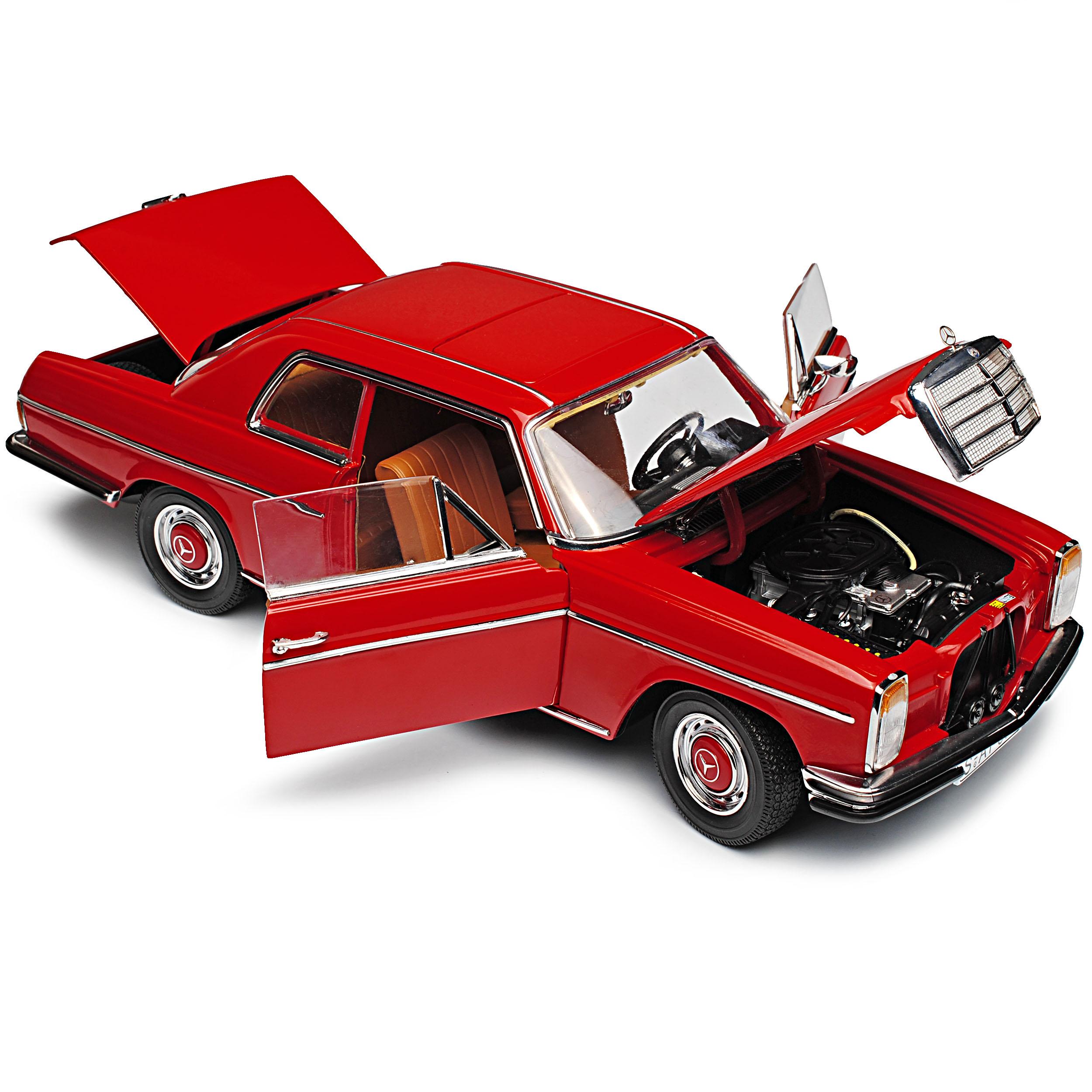 Mercedes-Benz-8-Strich-Acht-Coupe-Dunkel-Rot-W114-1967-1976-1-18-Sun-Star-Mod Indexbild 9