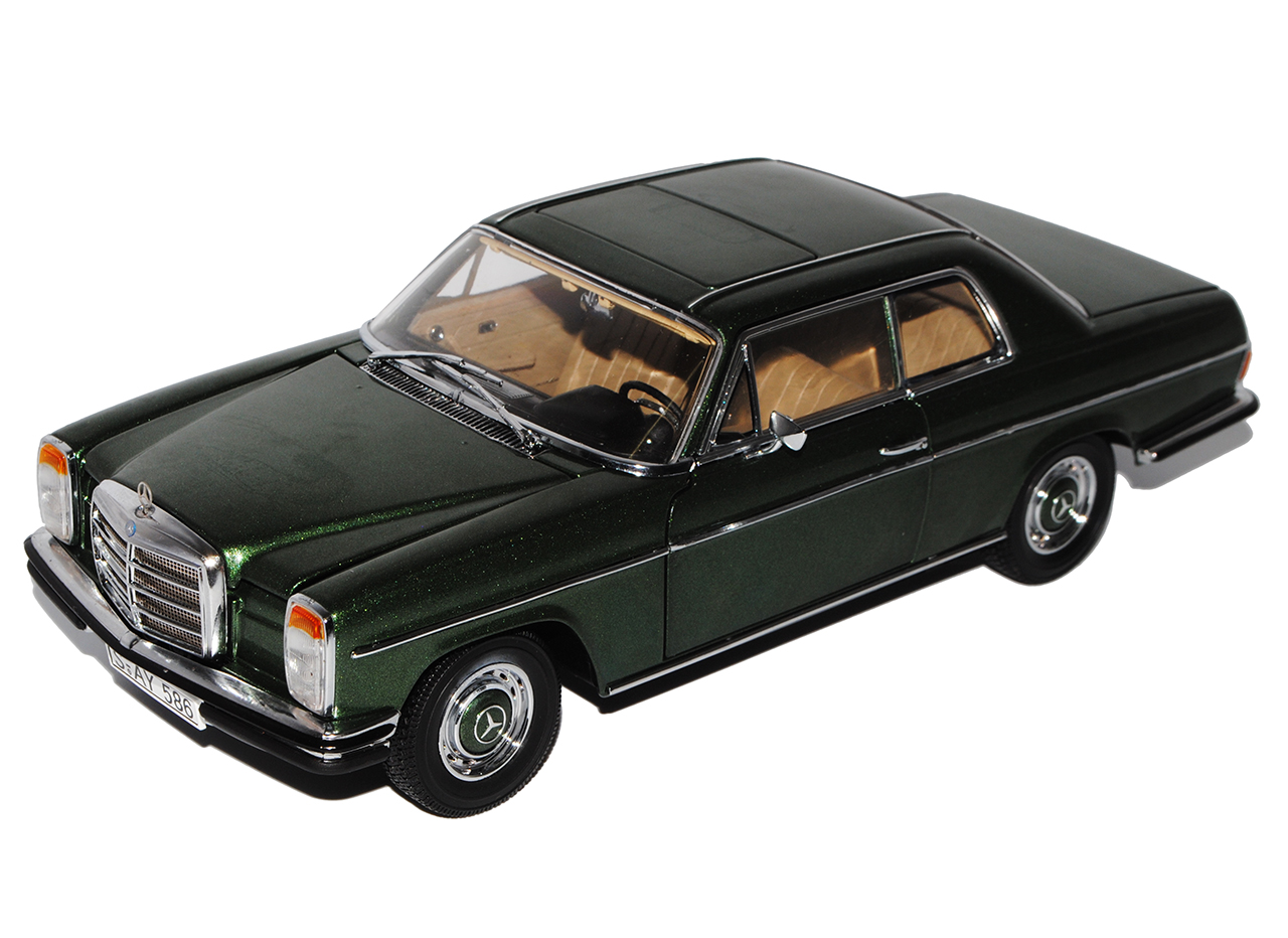 Mercedes-Benz 220 220 220 8-Barres huit Coupe Vert w114 1967-1976 1 18 SUN STAR Model... 4042bb