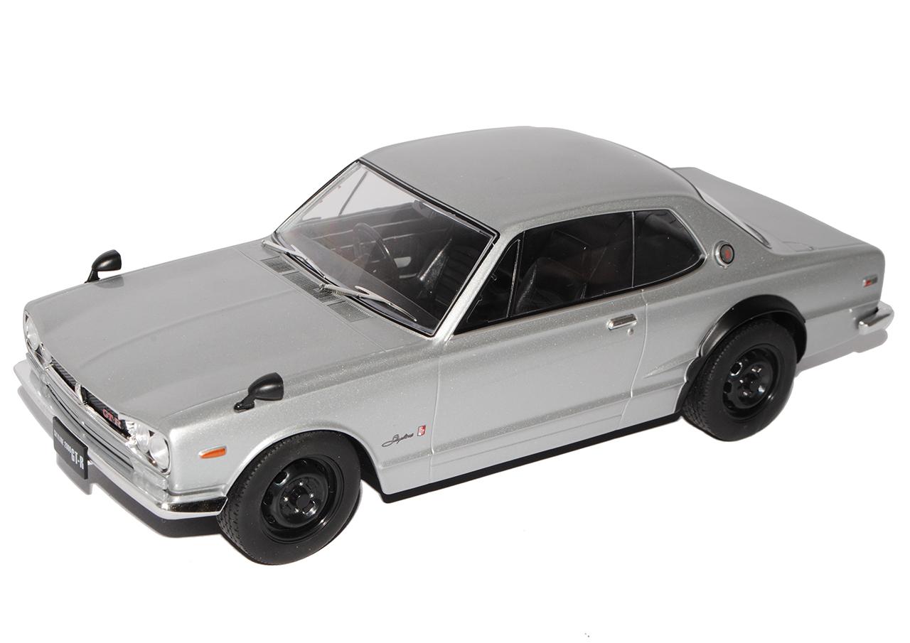 NISSAN NISSAN NISSAN SKYLINE TYPE c10 GT-R KPGC 10 Coupé Argent 1968-1972 Triple 9 1/18 Premiu... | Big Liquidation  e3cb75