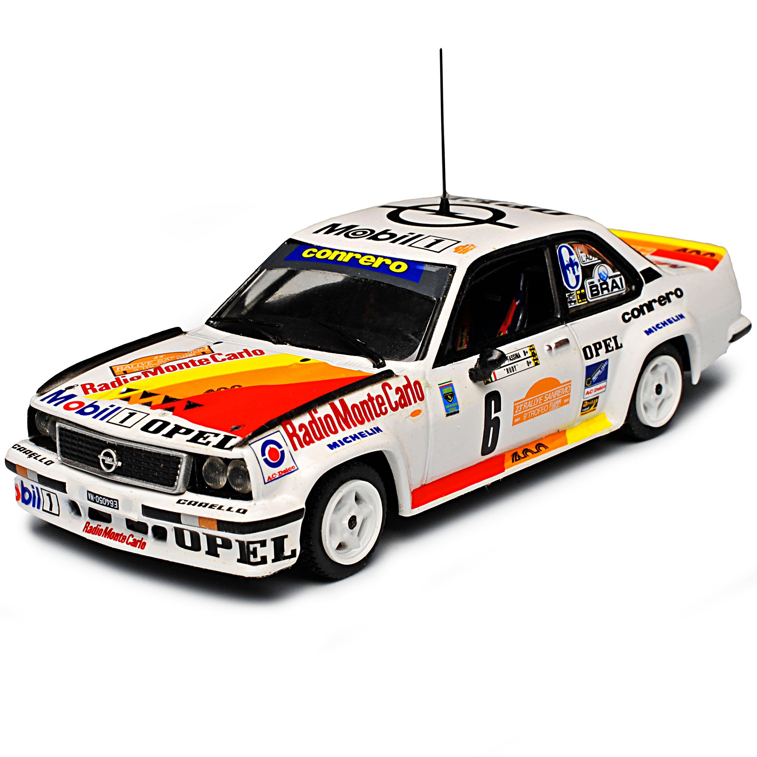 Opel Ascona 400 Rally 1981 Tony Fassina Sanremo Rally 1 1 1 43 Vitesse Modell Auto.. 014a21
