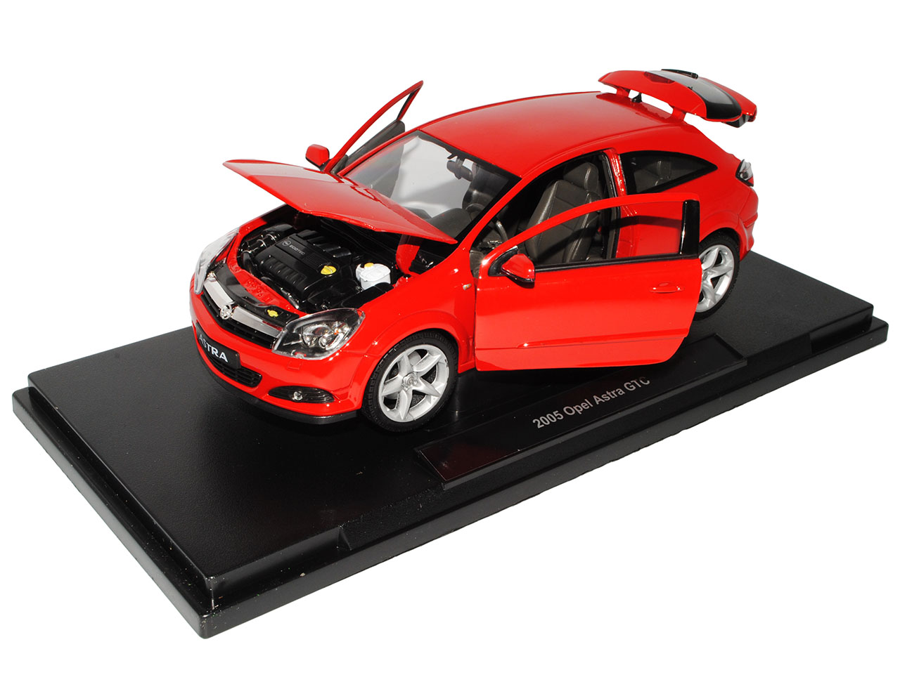 Opel Astra H GTC Coupe rojo 2005-2010 1 1 1 18 welly modelo coche con o sin indi... a17d64
