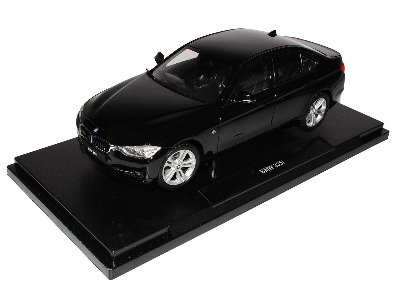 BMW 3er f30 335i 335i 335i berline noir à partir de 2012 1 18 Welly modèle voiture avec ou sans aucun... 7b2420
