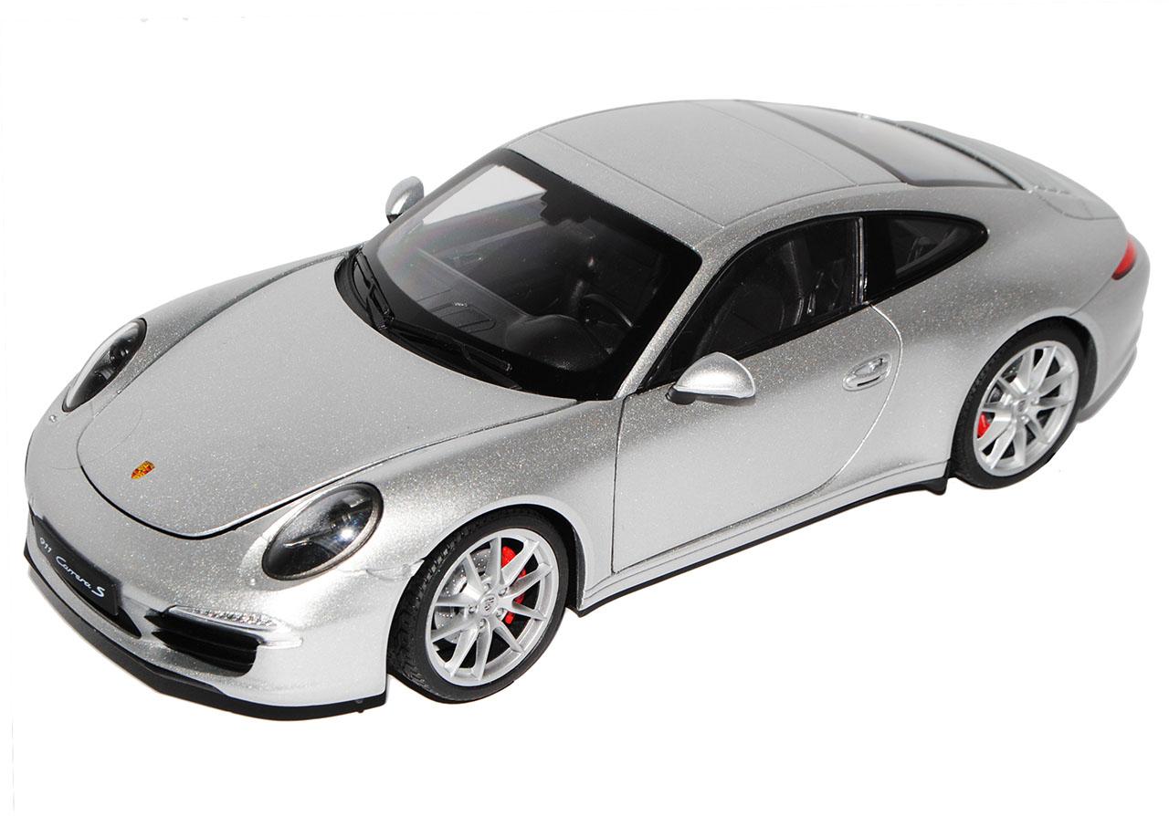 Porsche 911 991 Carrera Carrera Carrera S Coupe Silber Grau Ab 2012 1 18 Welly Modell Auto mit..  | Shop  3a6611