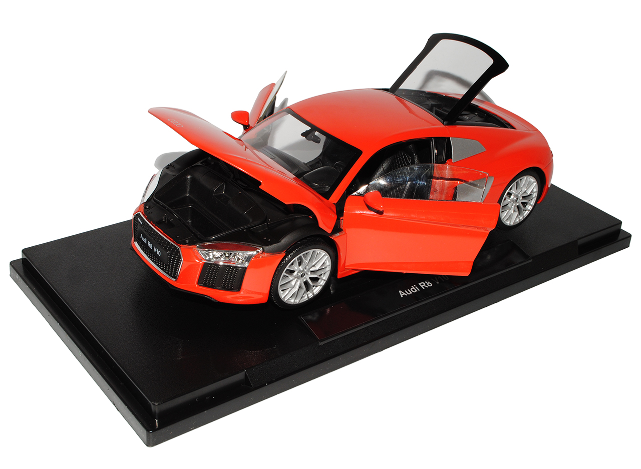Audi R8 Coupe red neuestes Modell 2. Generation Generation Generation ab 2015 1 18 Welly Modell Auto.. f80356