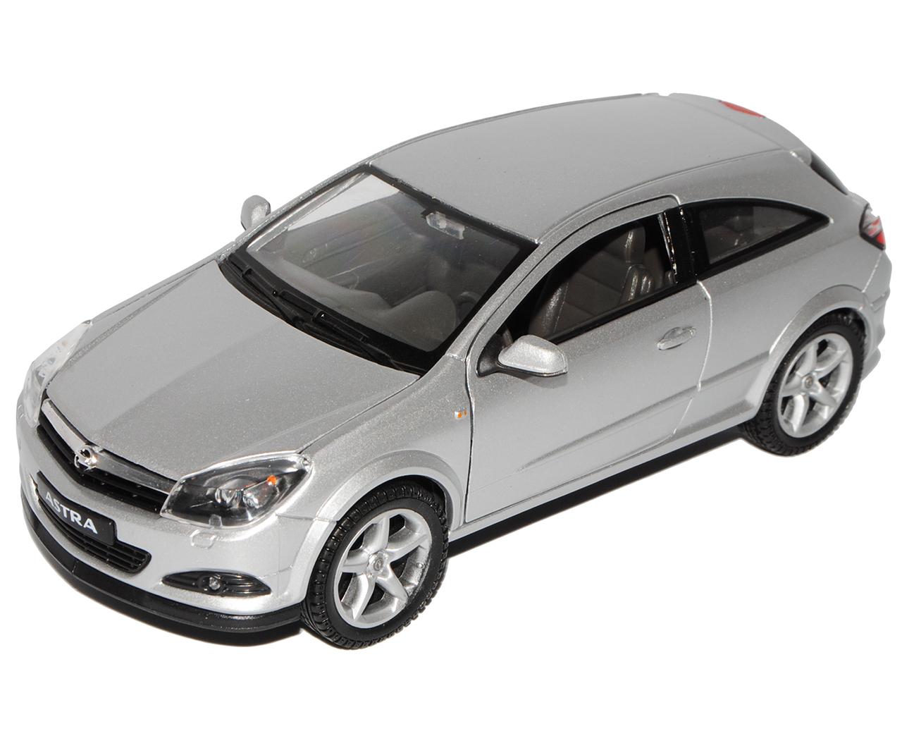 Welly Opel Astra H GTC Rot Coupe 2005-2010 1//24 Modell Auto mit individiuellem Wunschkennzeichen