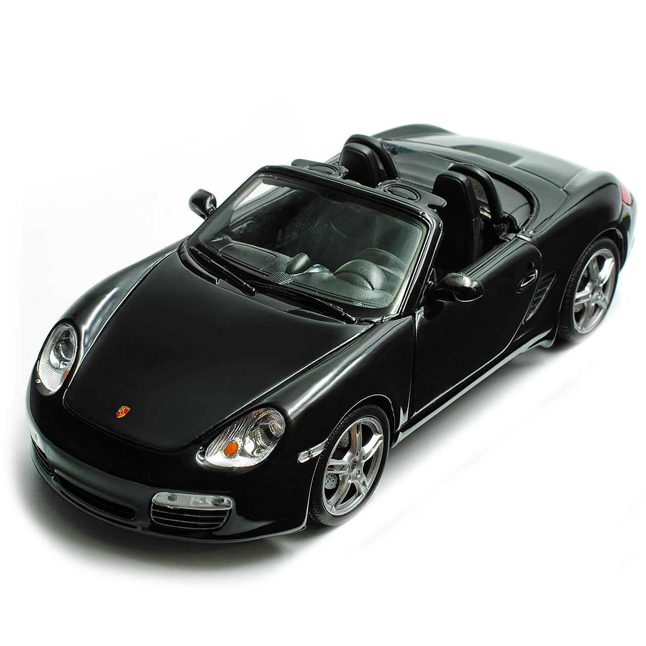 Porsche Boxster Car: Porsche Boxster S 987 Convertible Open Black 2004-2012 1