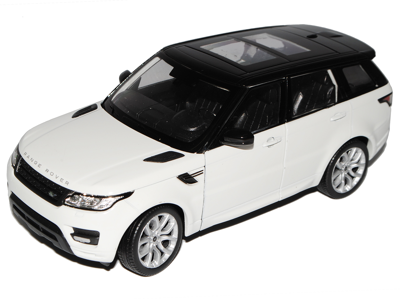 Land Rover Range Rover Sport 2 Generation Orange Ab 2013 1//24 Welly Modell Au..