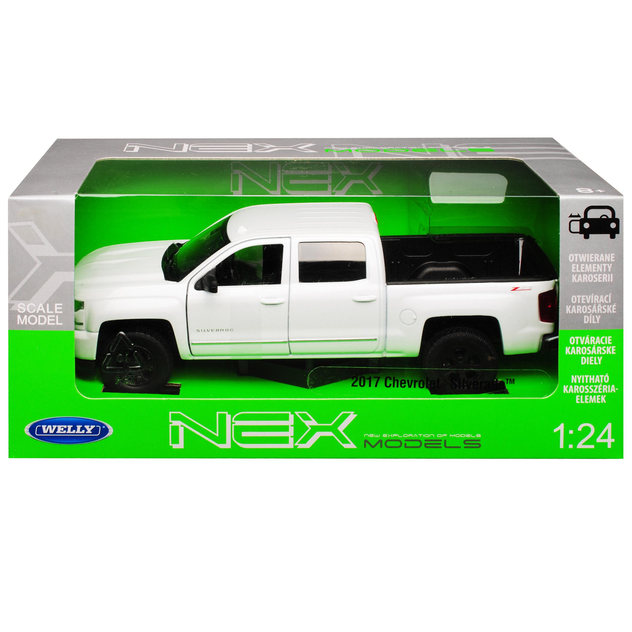 #24083 1:24 weiss Welly Chevrolet Silverado