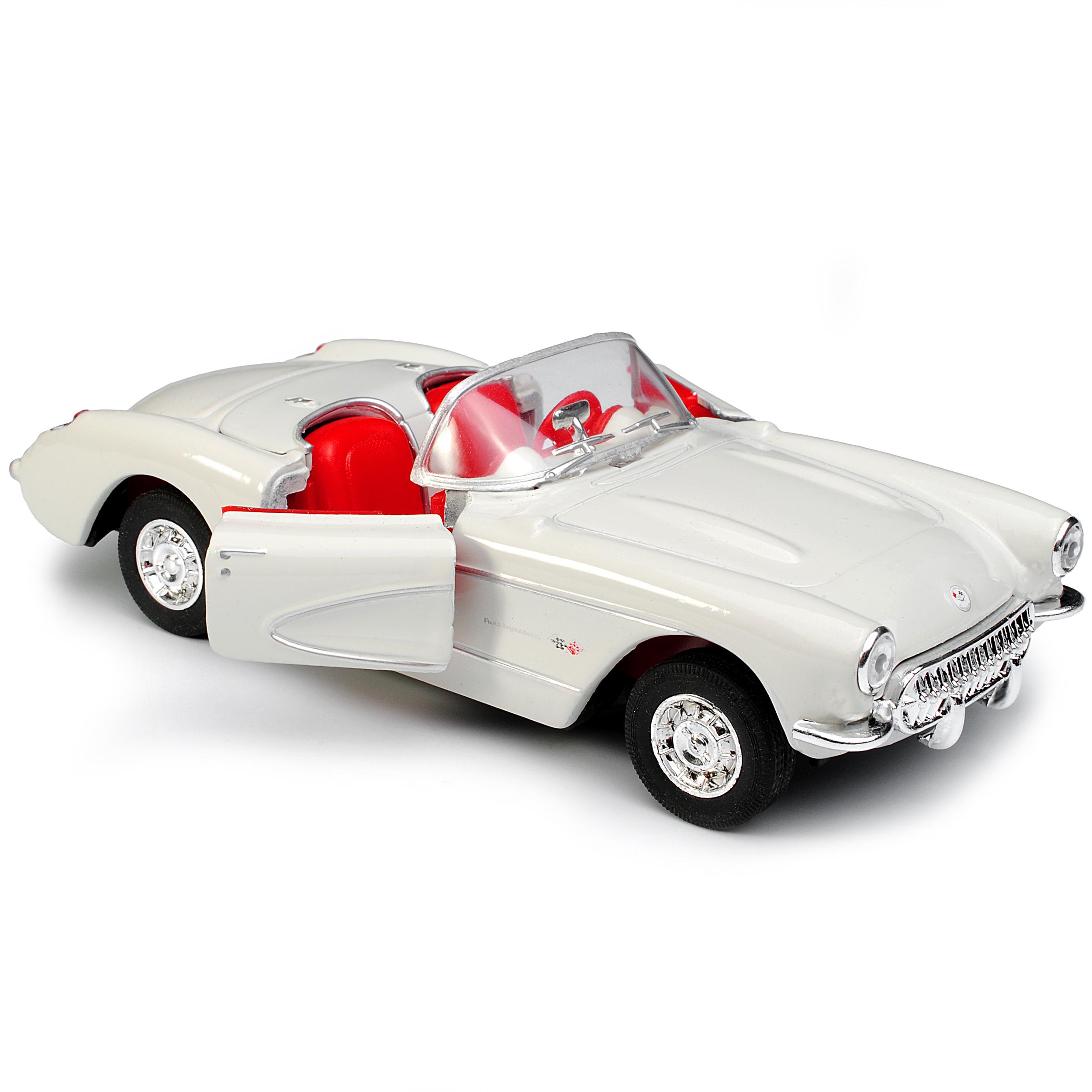 Chevrolet Corvette C1 Cabrio Rot Offen 1953-1962 ca 1//43 1//36-1//46 Welly Model..