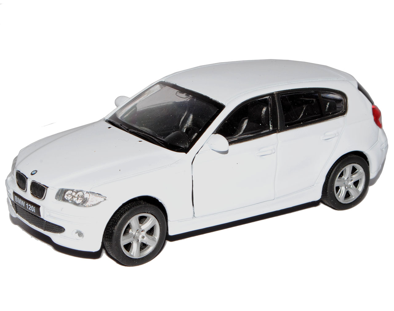 BMW 1er E87 1 Generation 5 Türer Schwarz 2004-2013 1//18 Welly Modell Auto mit..