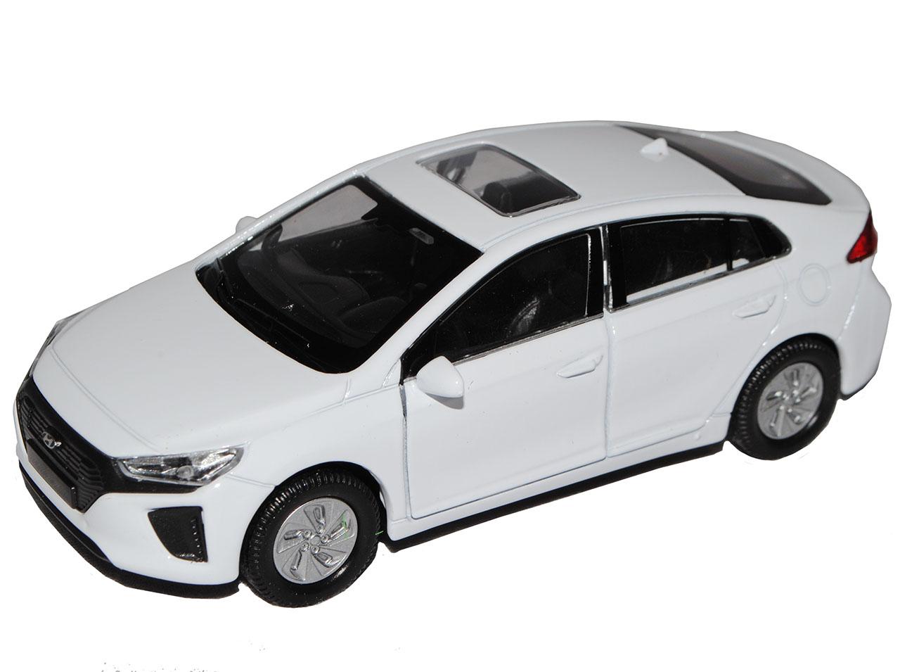 Hyundai-Ioniq-sedan-blanco-de-welly-2016-ca-1-43-1-36-1-46-modelo-de-coche-con miniatura 7
