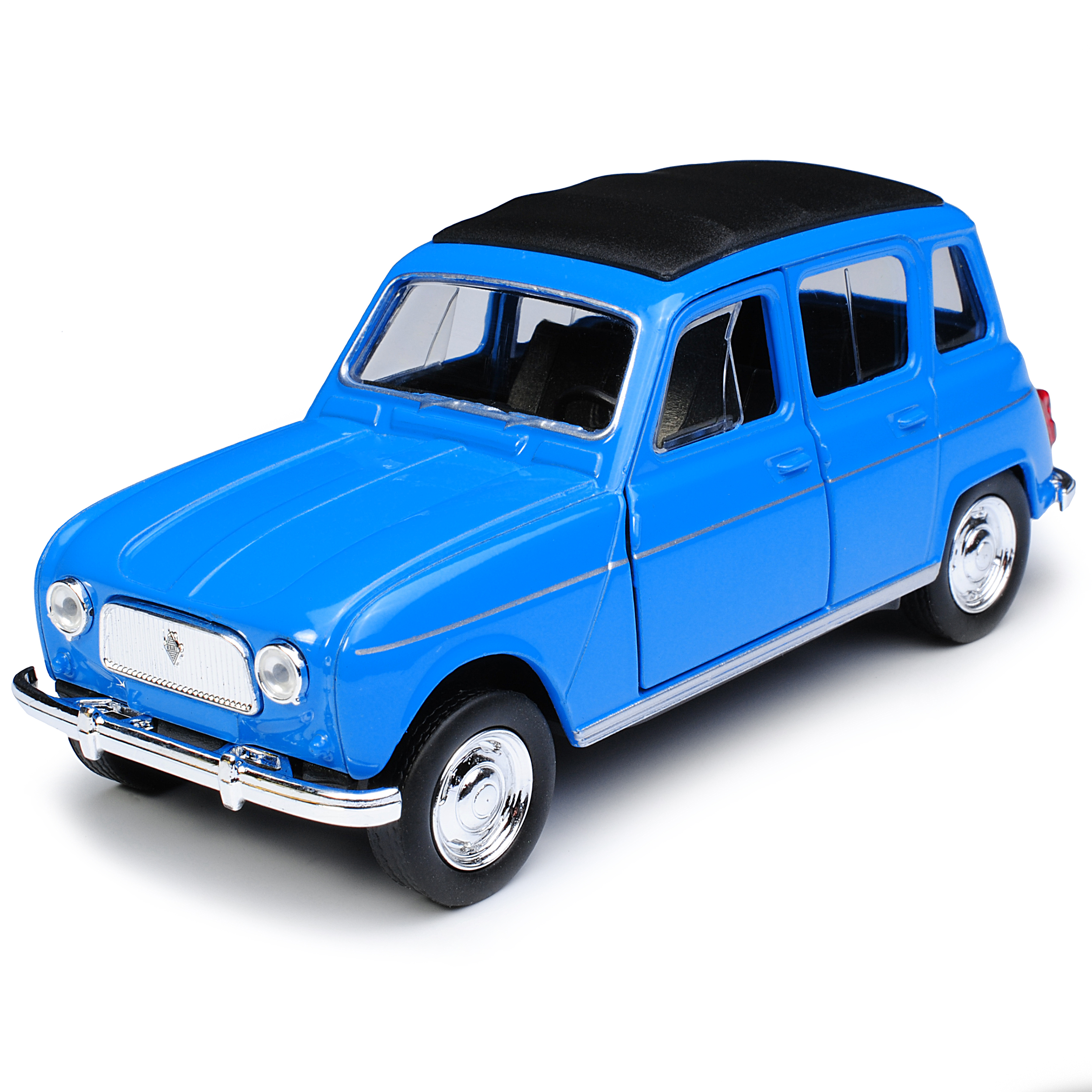 Renault R4 4L GTL 5 Clan Türer Blau Mit Surfbrett Love And