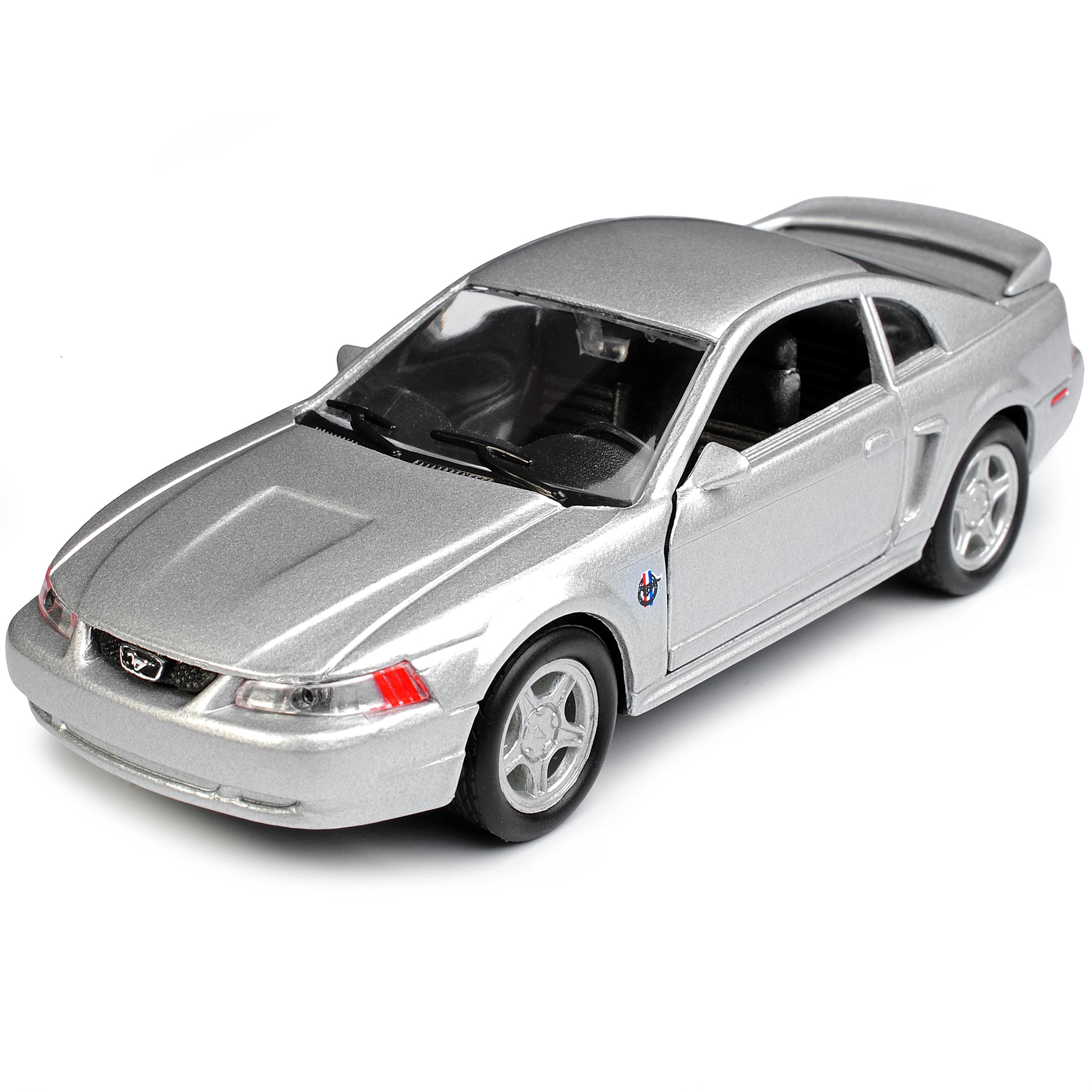 Version-de-plata-1994-2004-Ford-Mustang-IV-GT-coupe-de-cara-ascensor-1999-ca-1-43-1-3 miniatura 8