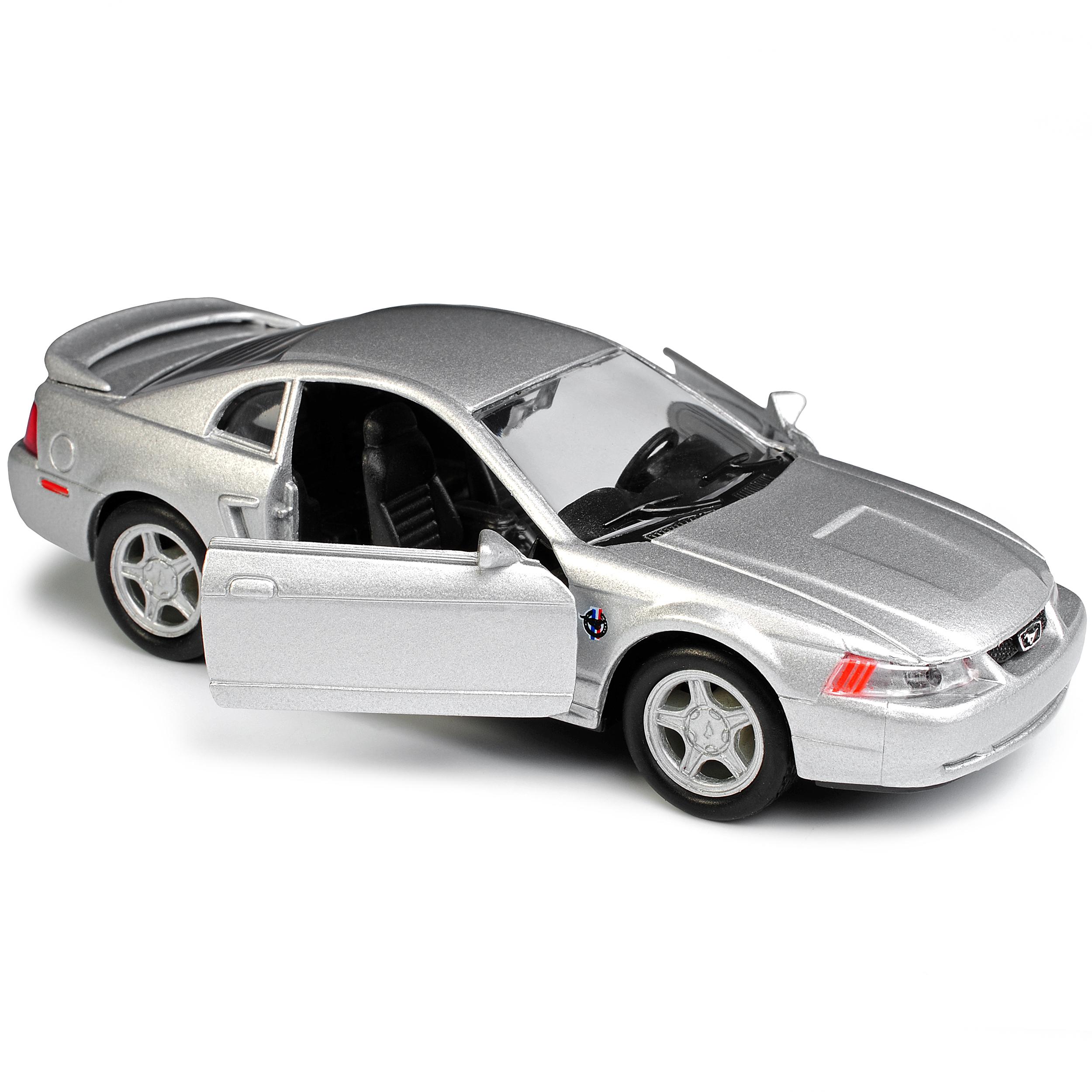 Version-de-plata-1994-2004-Ford-Mustang-IV-GT-coupe-de-cara-ascensor-1999-ca-1-43-1-3 miniatura 9