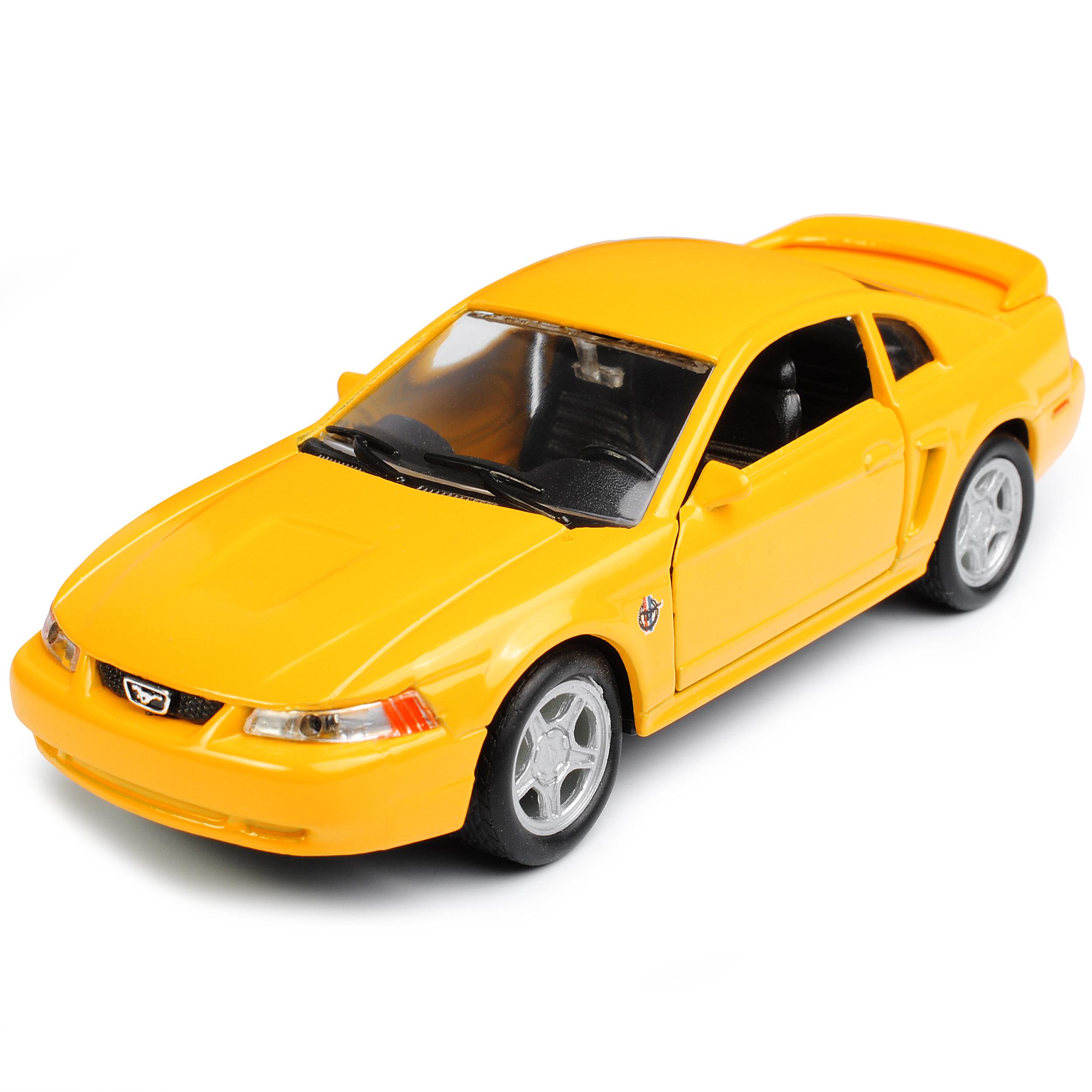 Version-de-amarillo-1994-2004-Ford-Mustang-IV-GT-coupe-de-cara-Levante-1999-ca-1-43-1-36 miniatura 8