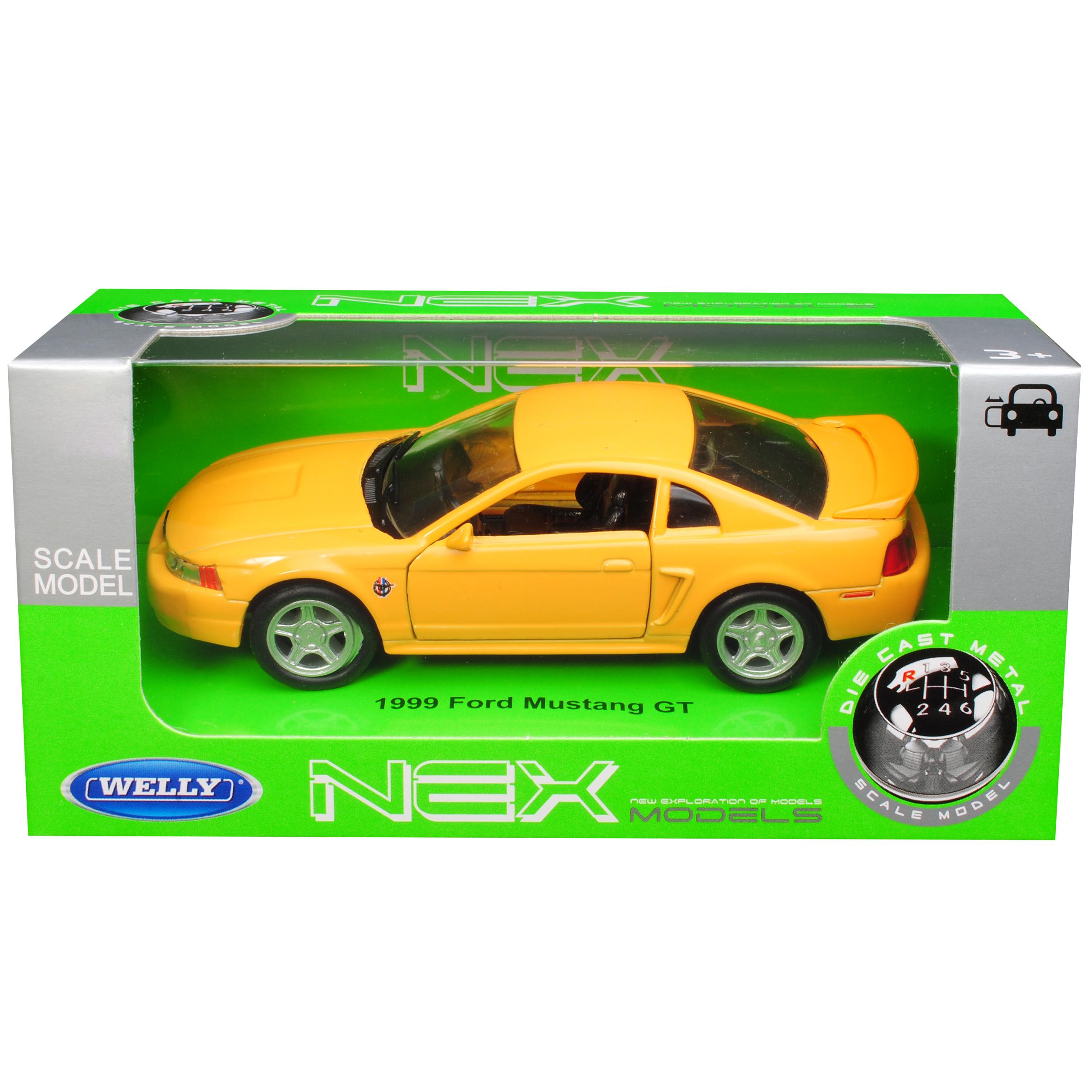 Version-de-amarillo-1994-2004-Ford-Mustang-IV-GT-coupe-de-cara-Levante-1999-ca-1-43-1-36 miniatura 10