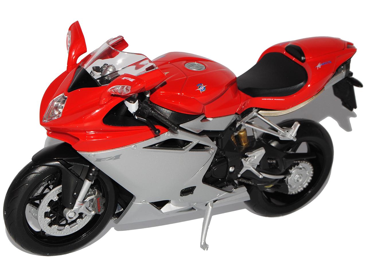 MV-Agusta-F4-1-1-Rot-Silber-1-10-Welly-Modell-Motorrad-mit-oder-ohne-individiu Indexbild 7