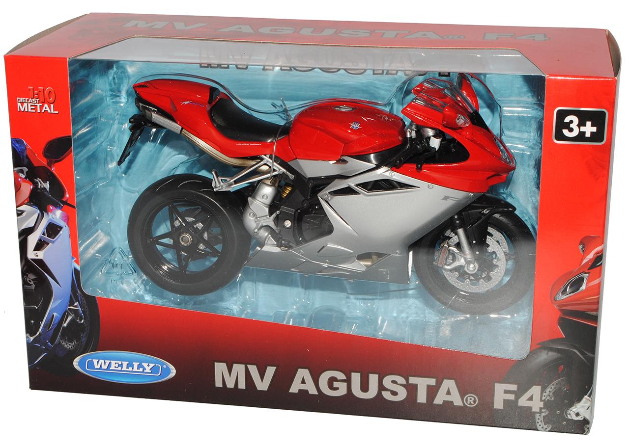 MV-Agusta-F4-1-1-Rot-Silber-1-10-Welly-Modell-Motorrad-mit-oder-ohne-individiu Indexbild 8