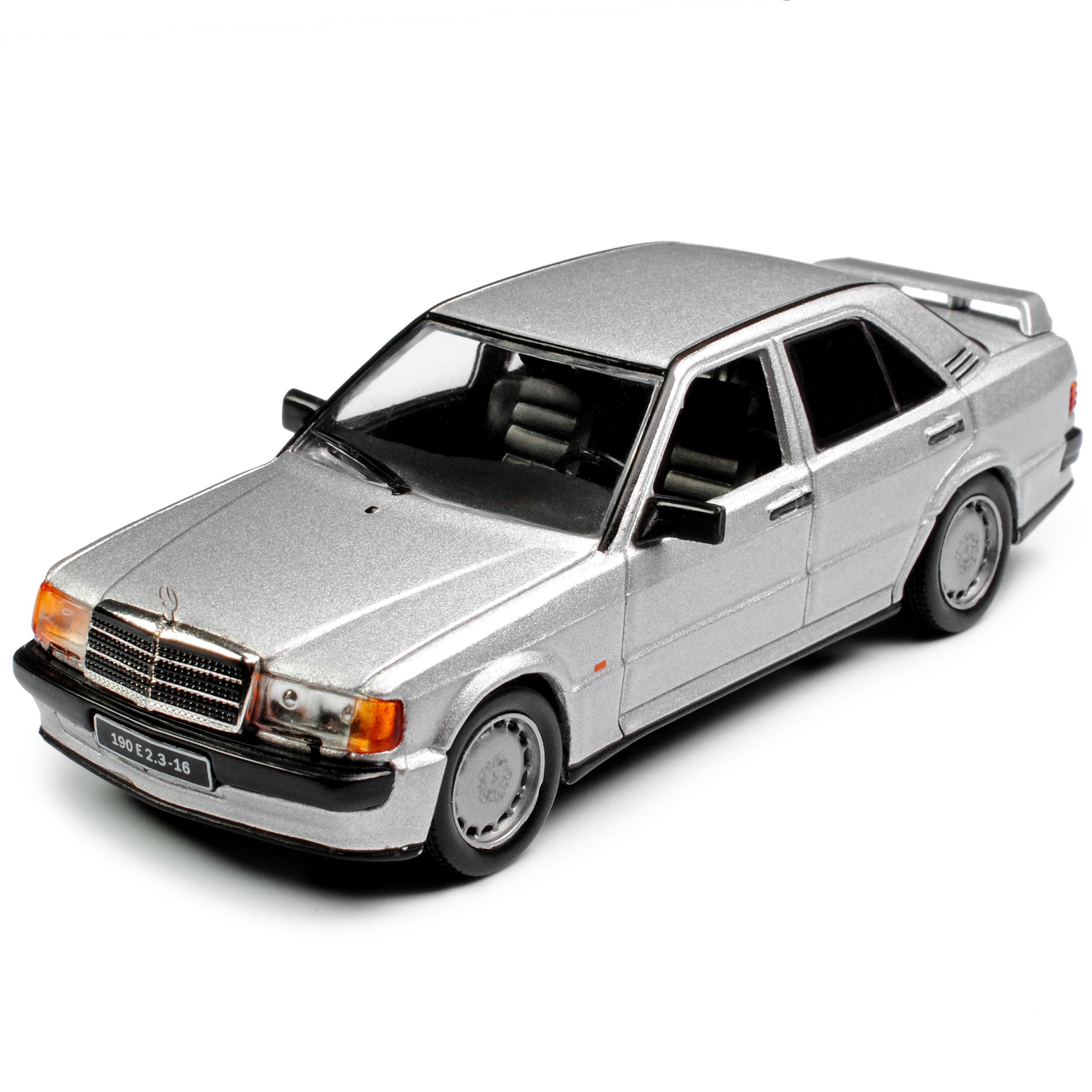 Mercedes-Benz C-Klasse 190E W201 2.5-16V Evolution II Schwarz 1982-1993 1//18 Solido Modell Auto mit individiuellem Wunschkennzeichen