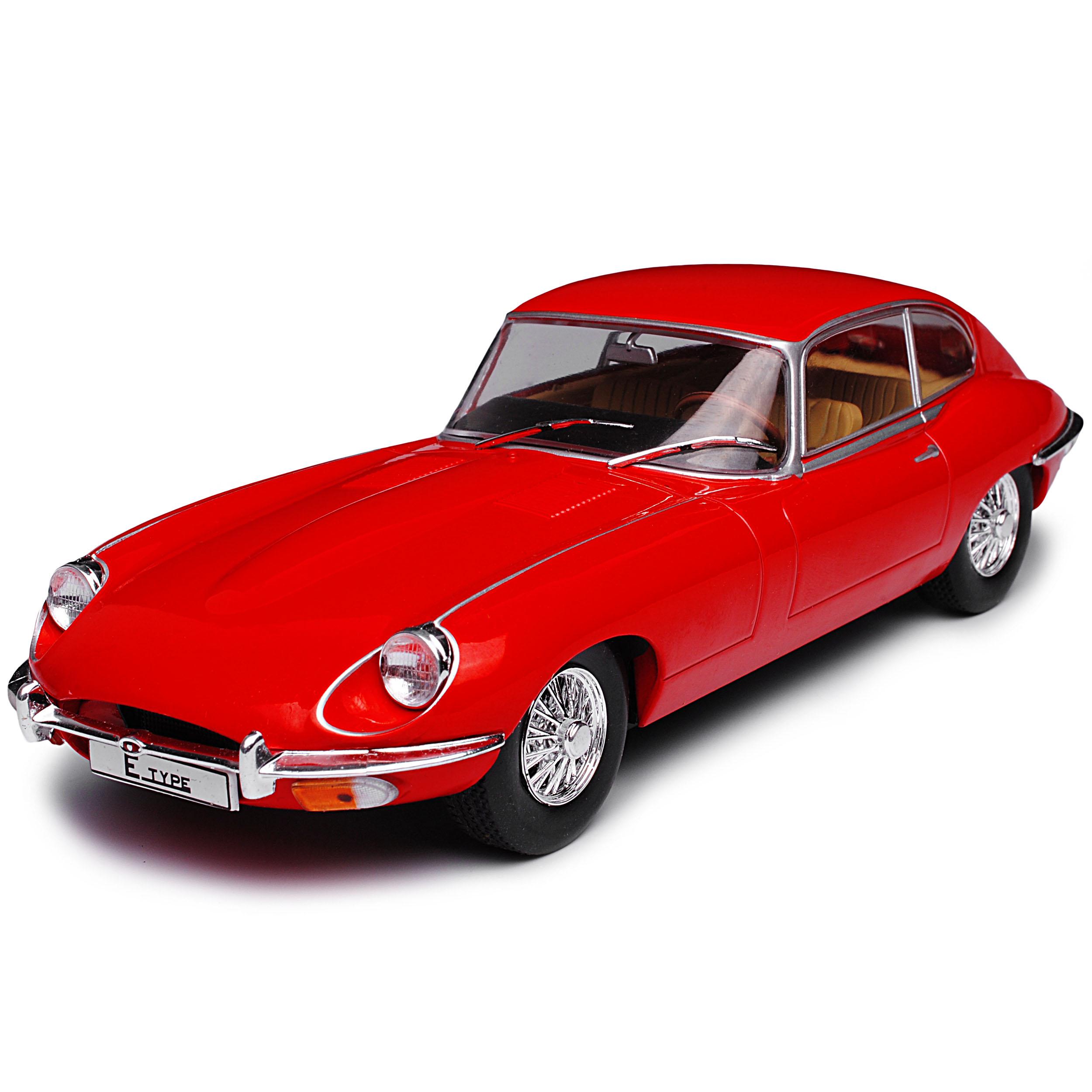 Jaguar-E-Type-Coupe-Rojo-1961-1974-1-24-Whitebox-modelo-coche-con-o-sin-indi miniatura 7