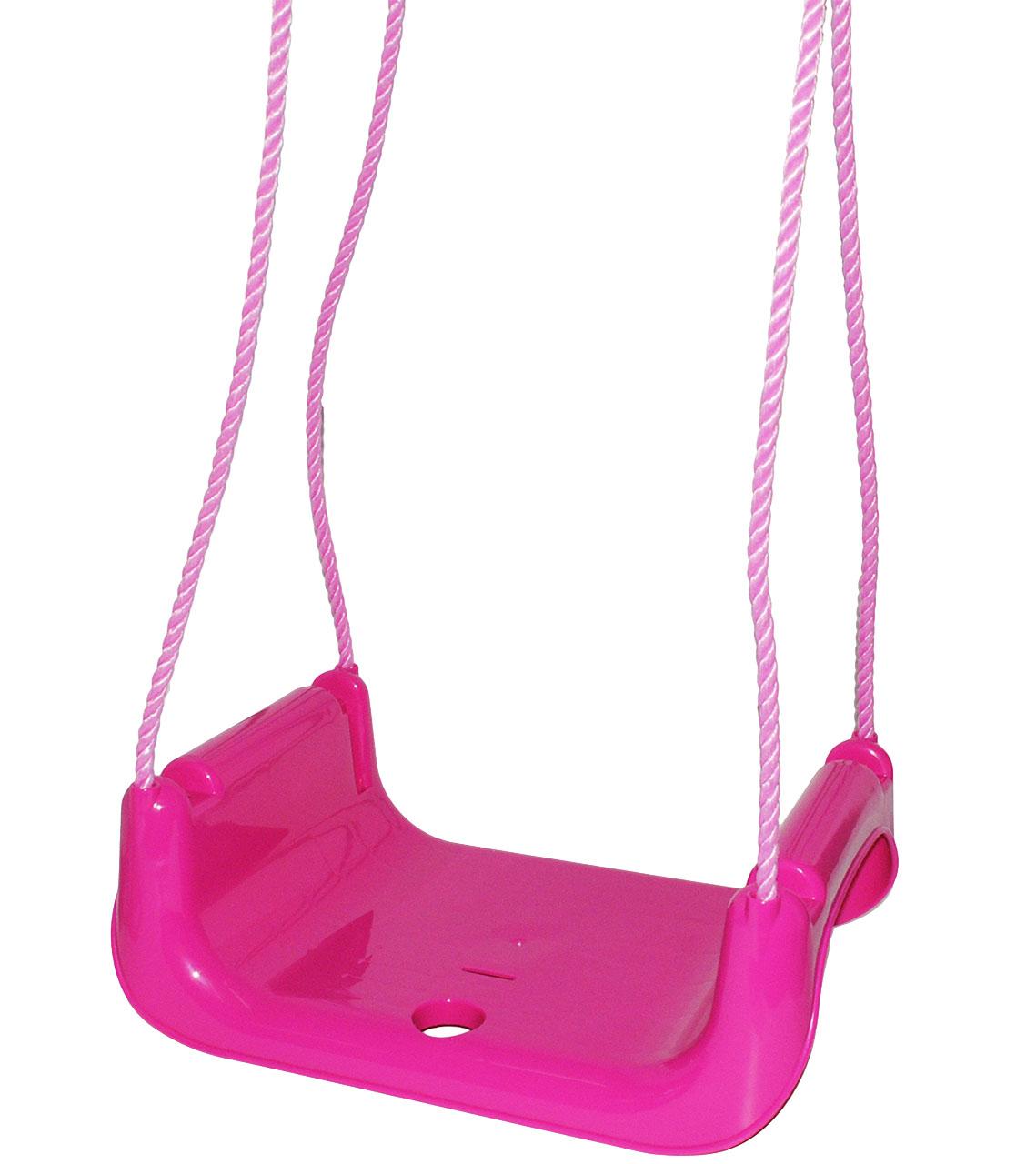 Babyschaukel-gitterschaukel-mitwachsend-amp-de-reequipar-con-cinturon-034-rosa-p miniatura 13